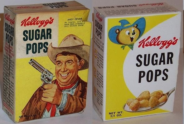 Sugar Pops Single Serve Boxes