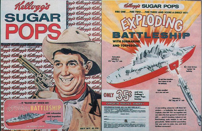 Sugar Pops Exploding Battleship Box