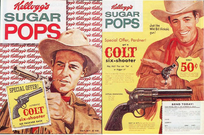 Sugar Pops Six-Shooter Box
