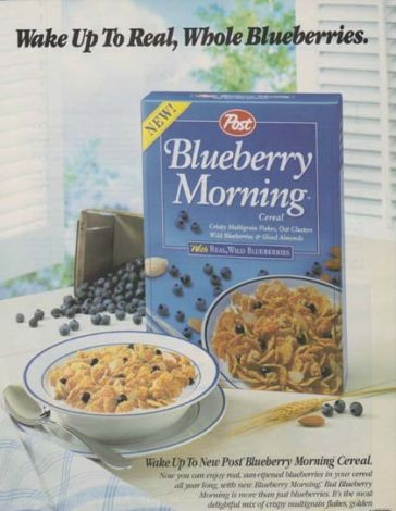 Blueberry Morning Ad