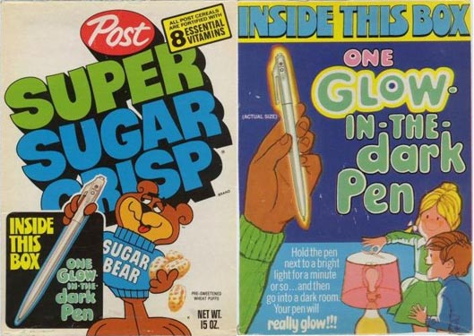 60s cereal box prizes