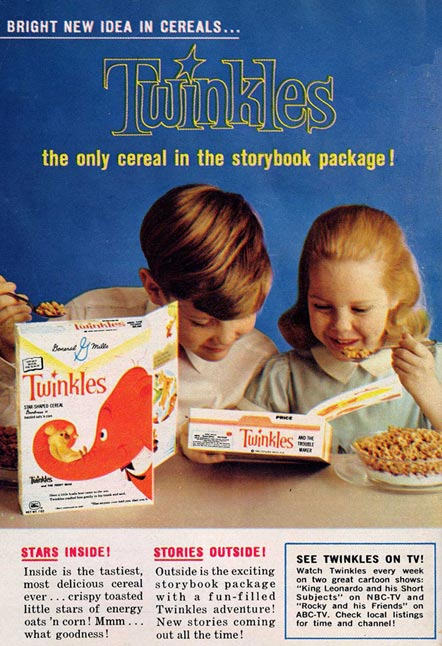 1961 Twinkles Cereal Advertisement
