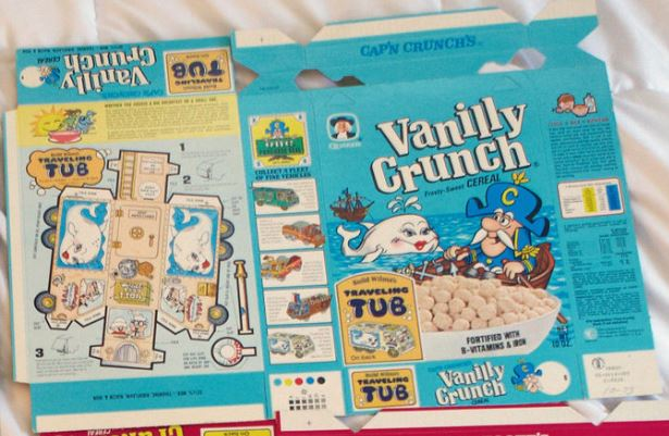 Vanilly Crunch Whale Vehicle