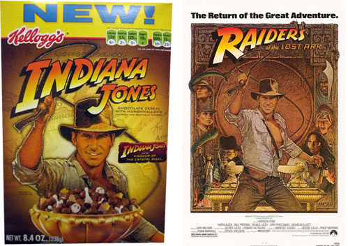 Indiana Jones: Indiana Jones Cereal And Poster