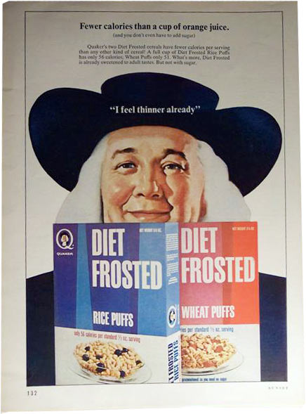 Diet Frosted Magazine Ad
