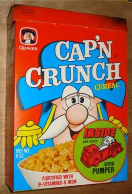 Cap'n Crunch Box - Gyro Pumper