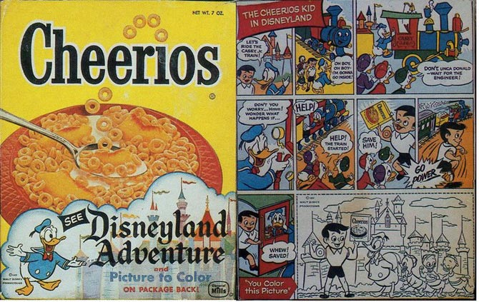 Cheerios Kid In Disneyland