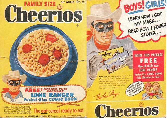 Cheerios Lone Ranger Comic Book