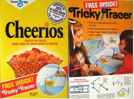 Cheerios Tricky Tracer
