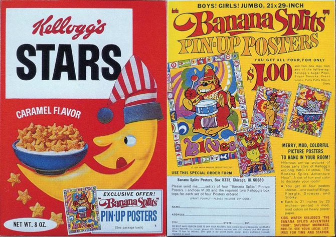 Stars Banana Splits Box