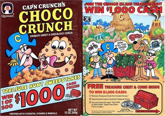 Choco Crunch w/ Treasure Hunt Sweeps
