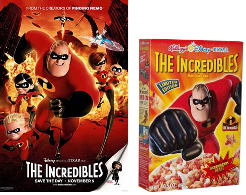 Incredibles Poster And Box