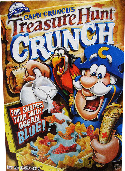 Treasure Hunt Crunch Box