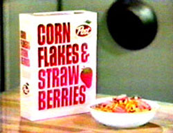 Corn Flakes & Stawberries Pic