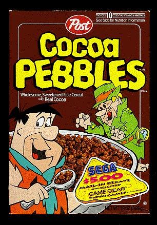Mail In Rebate Offers >> Cocoa Pebbles: 1994 Cocoa Pebbles Box