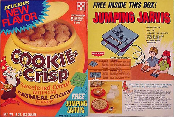 Cookie-Crisp Jumping Jarvis Box