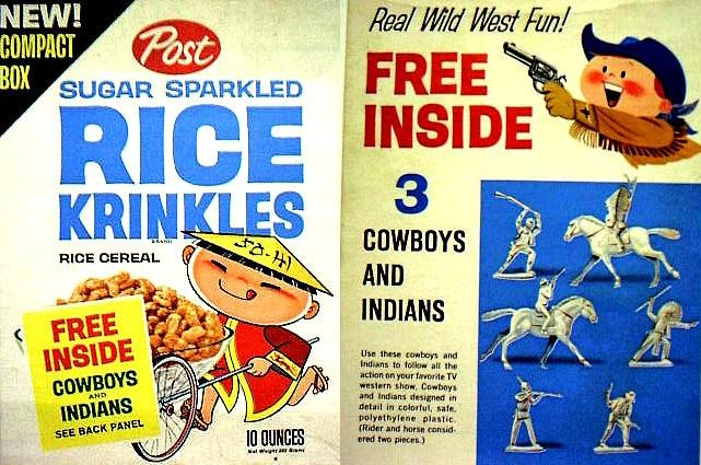 Sugar Rice Krinkles Cowboys & Indians