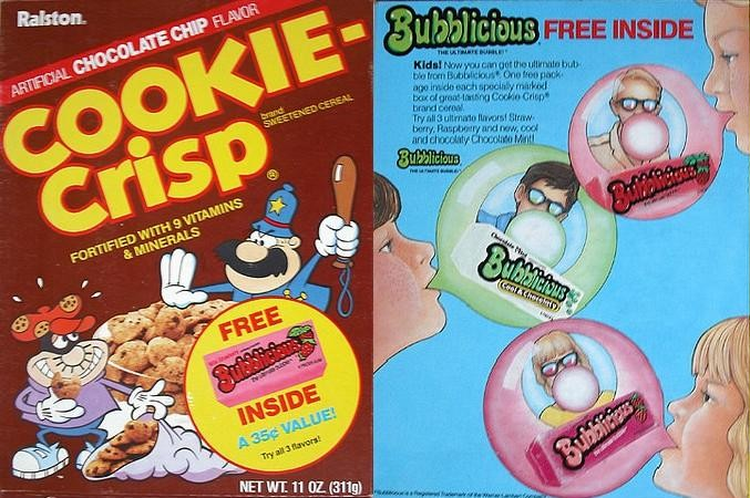 Cookie-Crisp Bubbilicious Box