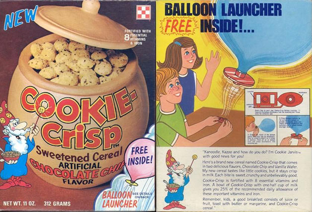 Cookie-Crisp Balloon Launcher Box