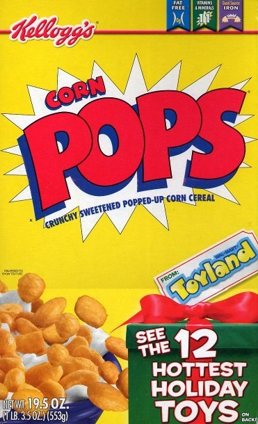 90s cereal - corn pops