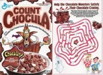 Count Chocula Chocolate Maze Box