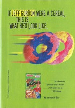 2000 Racing Apple Jacks Ad