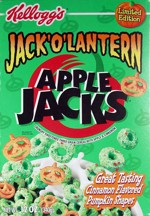 Jack-O-Lantern Apple Jacks Box