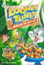 Looney Tunes Cereal Box - Front
