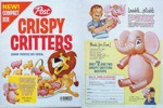 Crispy Critters Pink Elephant Toy