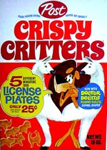 Crispy Critters Cereal w/ Doctor DoLittle Shapes