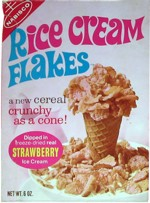 Strawberry Rice Cream Flakes