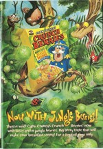 Crunch Berries Jungle Berries Ad