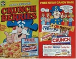 Crunch Berries Candy Bar Box