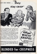 1936 Wheat Krispies Ad