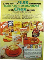 1980 Ad With Honey Bran Cereal