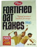 Fortified Oat Flakes Box - Tennis