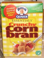 Crunchy Corn Bran Cereal Box