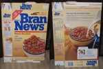 Bran News Cereal Box