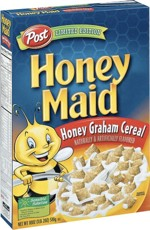 Honey Maid Cereal Box