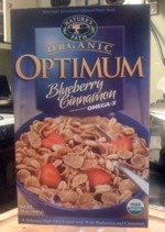 Optimum Blueberry Cinnamon Box - Front