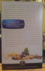 Optimum Blueberry Cinnamon Box - Back