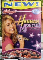 Hannah Montana Cereal - Front