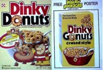Dinky Donuts Wacky Packages Poster