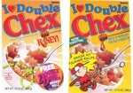 I Love Double Chex Cereal Boxes