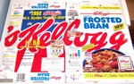 1992 Frosted Bran Box