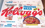 Early Frosted Bran Box
