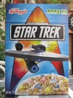 Star Trek Cereal Box - Front