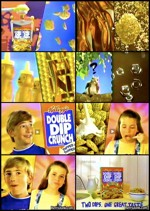 Screen Caps Of Double Dip Crunch Ad