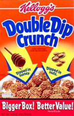 Double Dip Crunch Cereal Box