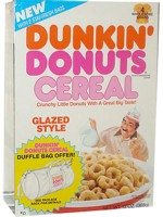 Glazed Style Dunkin Donuts Cereal